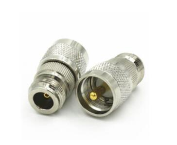 PL259 PL-259 UHF Male Plug to N Female Jack connec