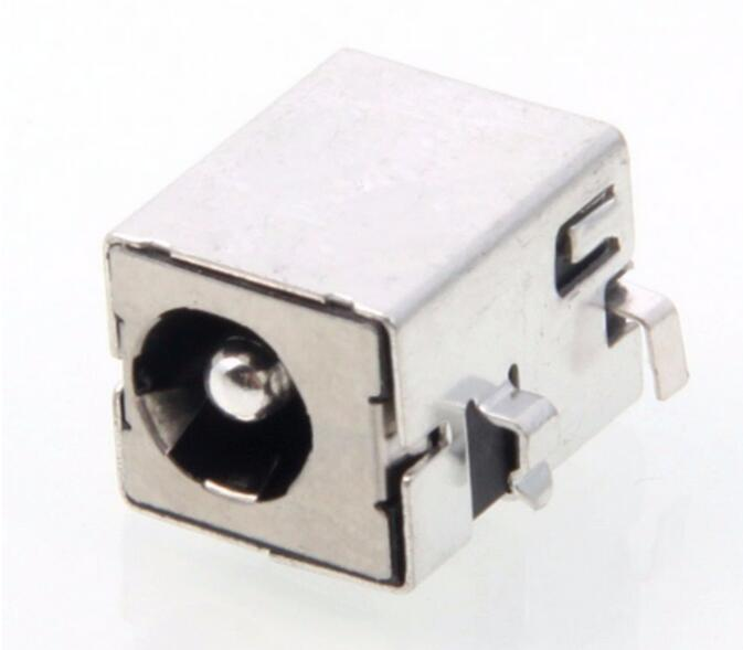Laptop Silver 2.5mm x 5.5mm adapter DC Power Jack